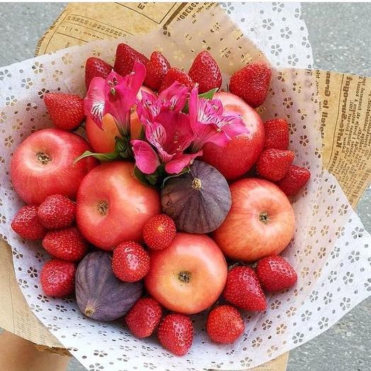 Букет фруктовый «Весенний»: букеты цветов на заказ Flowwow