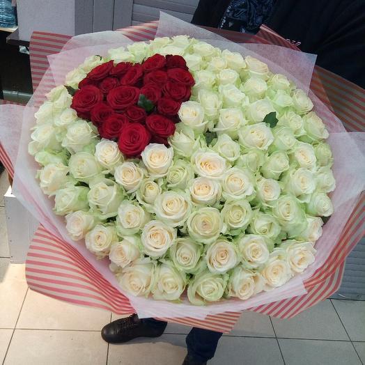 Роза россиская: букеты цветов на заказ Flowwow