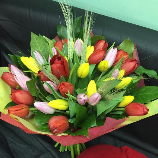 Весне дорогу: букеты цветов на заказ Flowwow