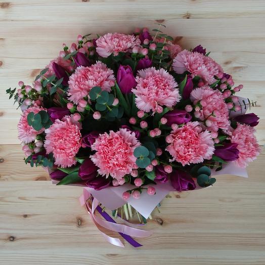 Цветочный десерт: букеты цветов на заказ Flowwow