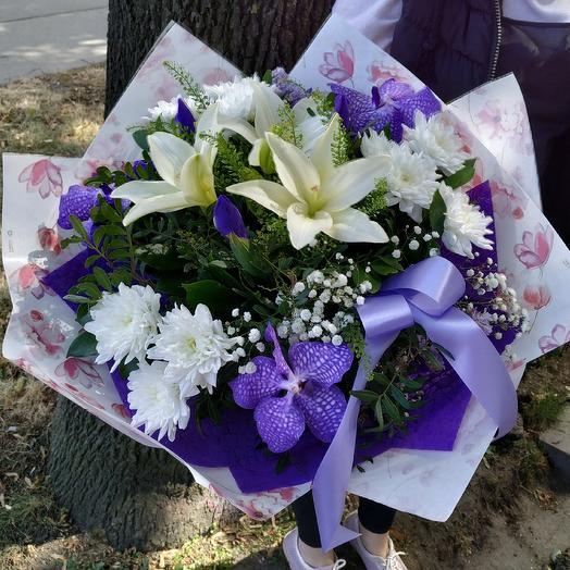 """Букет """"Ванесса""""🦋: букеты цветов на заказ Flowwow"""