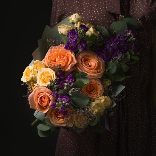 """Букет """"Сентябрь"""": букеты цветов на заказ Flowwow"""