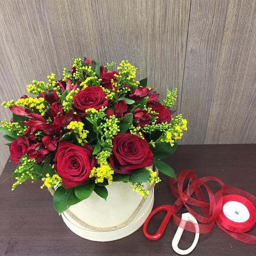 Flame of passion: букеты цветов на заказ Flowwow