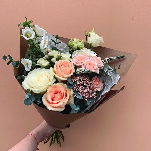 Мини букет: букеты цветов на заказ Flowwow