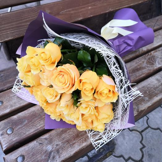 Золото: букеты цветов на заказ Flowwow
