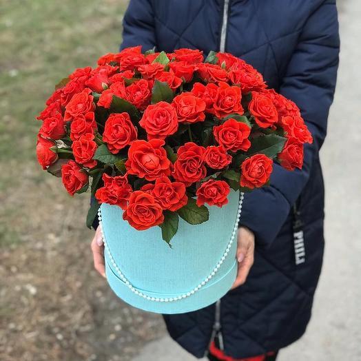 ХИТ 55 роз: букеты цветов на заказ Flowwow