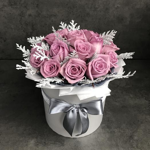 Стильные розы: букеты цветов на заказ Flowwow