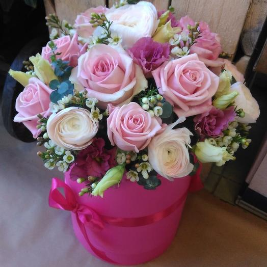 Pink box: букеты цветов на заказ Flowwow