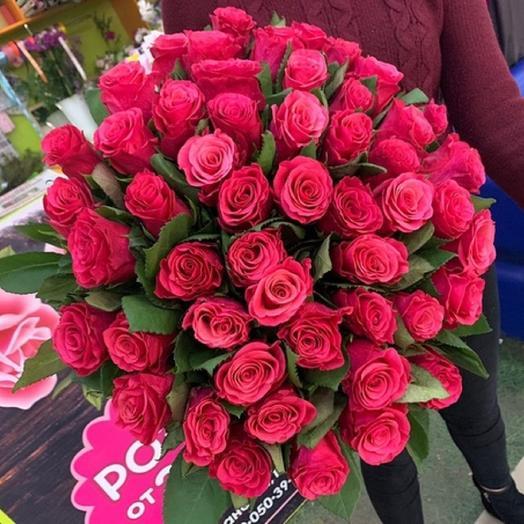51 роза 42 см
