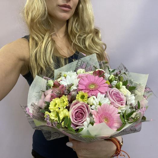 Нежность любимой: букеты цветов на заказ Flowwow