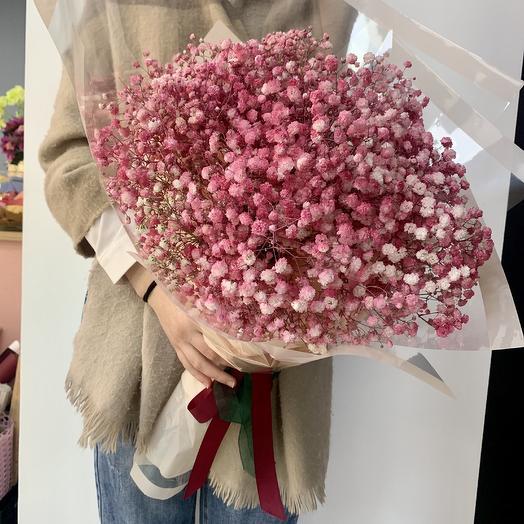 Гранд букет «Гипсофилла»: букеты цветов на заказ Flowwow