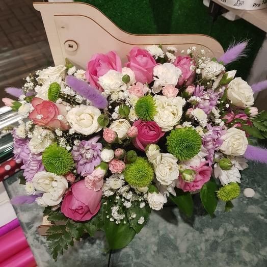 Рояль большой: букеты цветов на заказ Flowwow