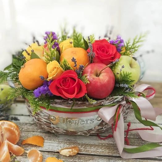 Сочный привет: букеты цветов на заказ Flowwow
