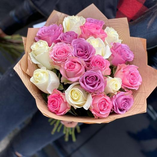 Букет роз ассорти