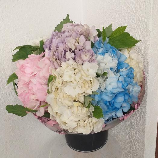 В Вальс Гортензий: букеты цветов на заказ Flowwow