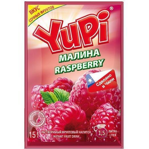 Растворимый напиток Yupi малина 15 г