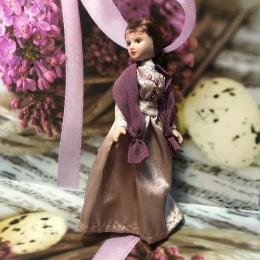 Куколка фарфоровая «Мисс»