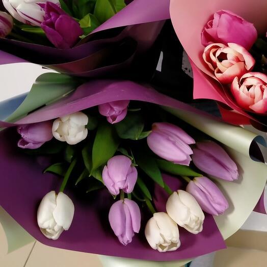 Тюльпаны ассорти
