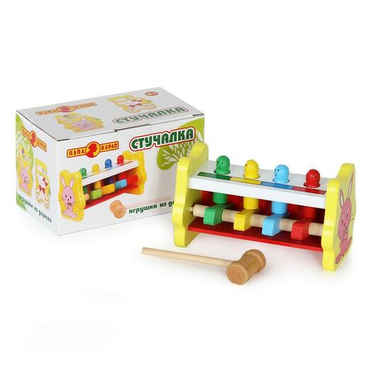 Игрушка деревянная - Стучалка