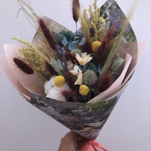 Букет из сухоцветов 4