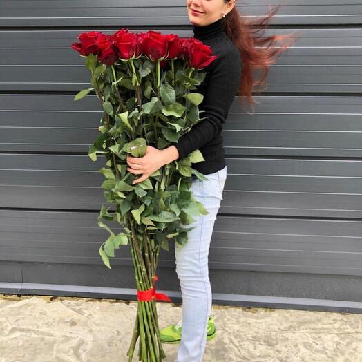 25 высоких роз гигантов розы 150см