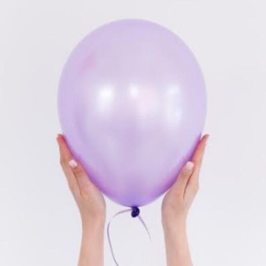Воздушный перламутровый шар поштучно