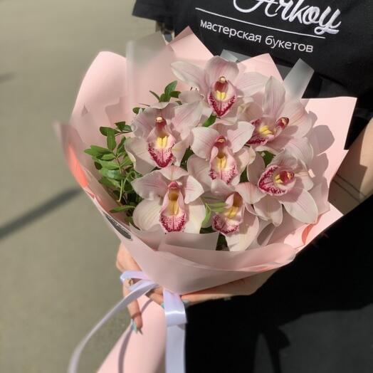 """Букет """"7 орхидей"""""""
