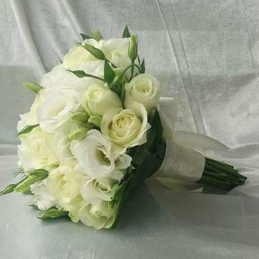 Свадебная нежность: букеты цветов на заказ Flowwow