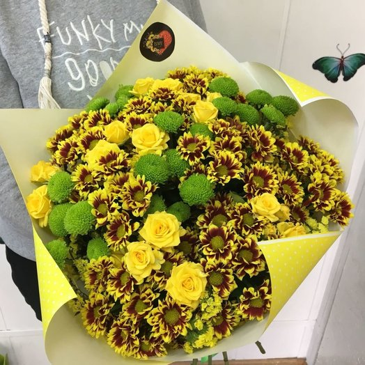 Букет Осенний: букеты цветов на заказ Flowwow