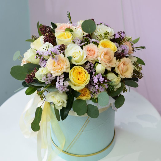 Нежная фантазия: букеты цветов на заказ Flowwow