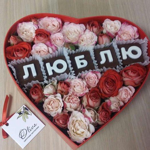 Коробка 14: букеты цветов на заказ Flowwow