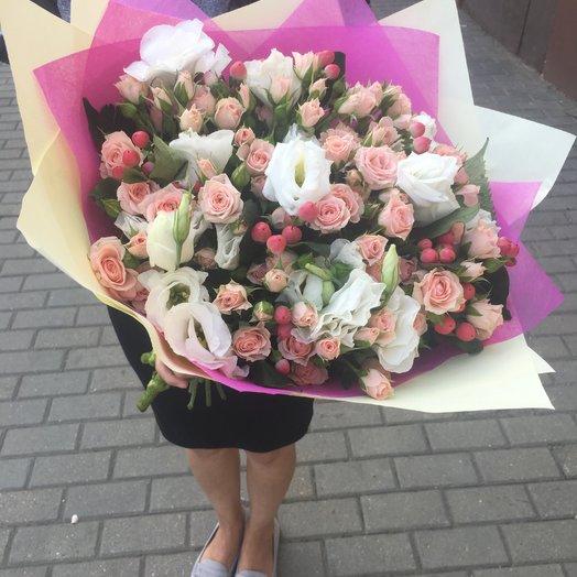 Нежная мелодия: букеты цветов на заказ Flowwow