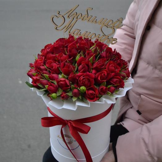 """Любимой """"Маме""""(Топпер в Подарок): букеты цветов на заказ Flowwow"""