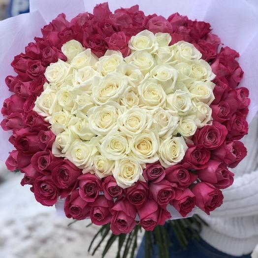 Чистое сердце💕: букеты цветов на заказ Flowwow
