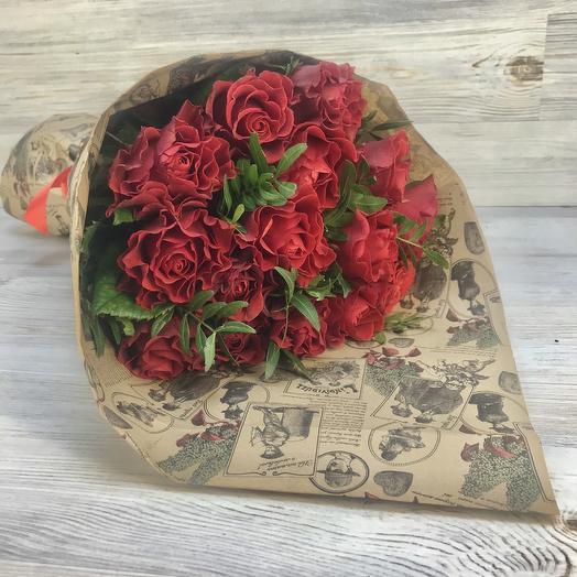 Букет из 15 роз эльторо: букеты цветов на заказ Flowwow