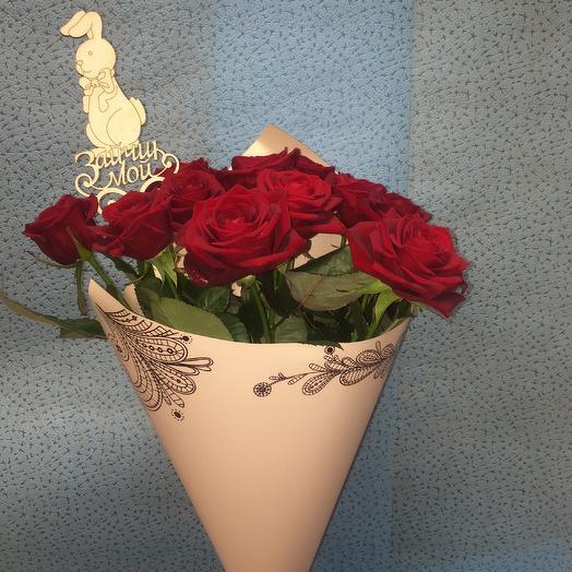Зайка моя: букеты цветов на заказ Flowwow