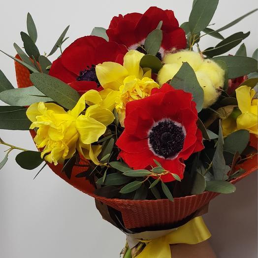 Тепло солнца: букеты цветов на заказ Flowwow