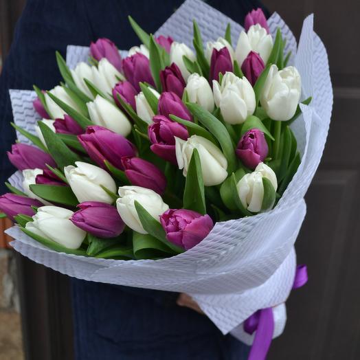 Вечер в Париже: букеты цветов на заказ Flowwow