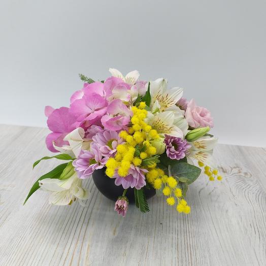 Цветочная композиция 02: букеты цветов на заказ Flowwow