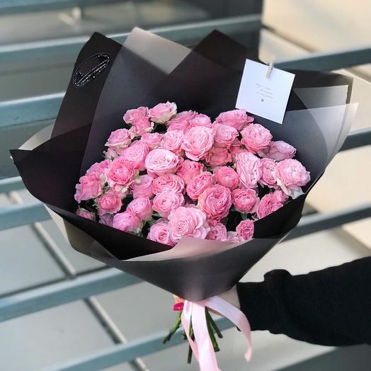Пионовидный комплимент: букеты цветов на заказ Flowwow