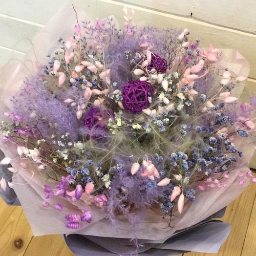 Фиолетовые грёзы: букеты цветов на заказ Flowwow