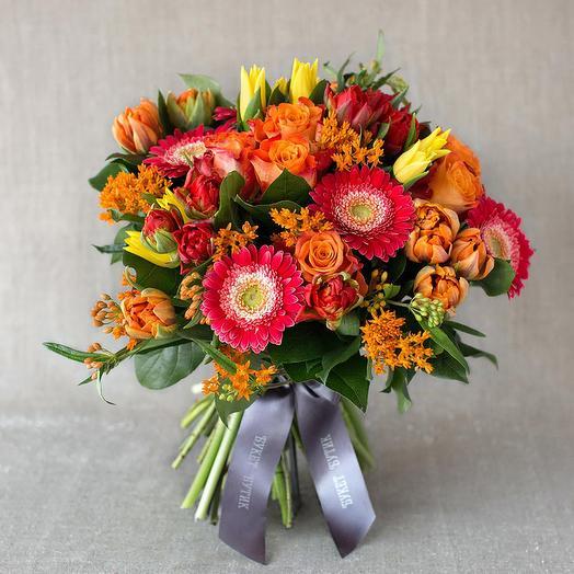 """Большой букет """"Амстердам"""": букеты цветов на заказ Flowwow"""