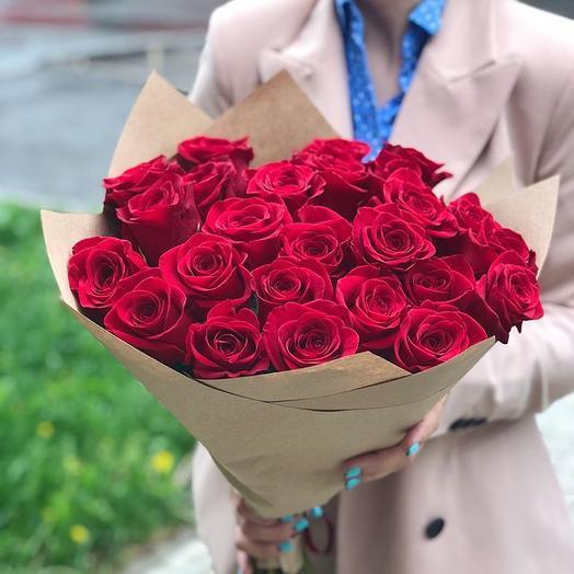 Голландская роза по СУПЕР ЦЕНЕ: букеты цветов на заказ Flowwow