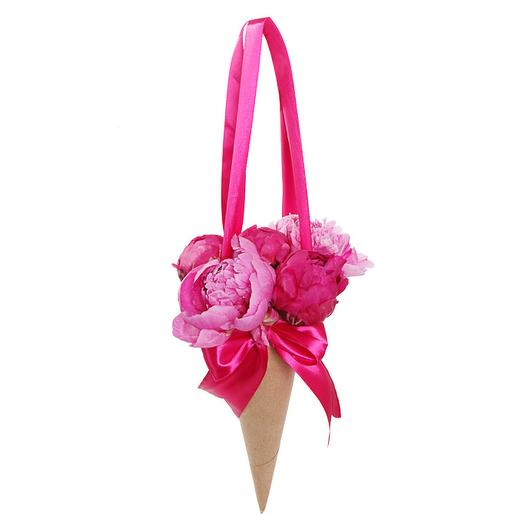Букет из пионов Сердцу не прикажешь: букеты цветов на заказ Flowwow