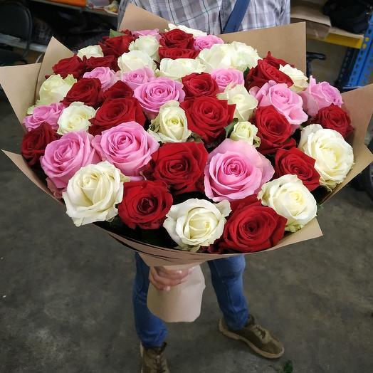 51 Микс с любовью: букеты цветов на заказ Flowwow