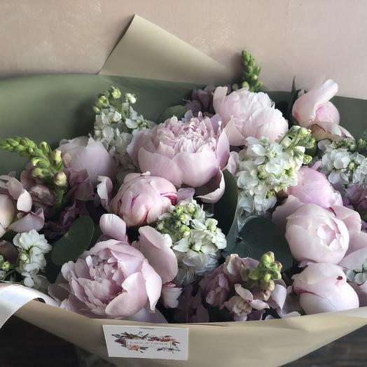 Букет «Летний бриз»: букеты цветов на заказ Flowwow