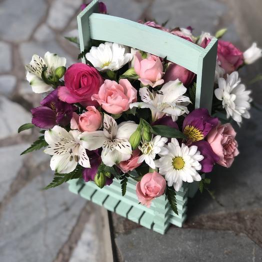 Коробочка для учителя 👩🏫: букеты цветов на заказ Flowwow