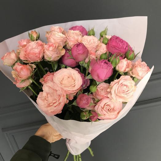 Кустовая любовь 😍: букеты цветов на заказ Flowwow