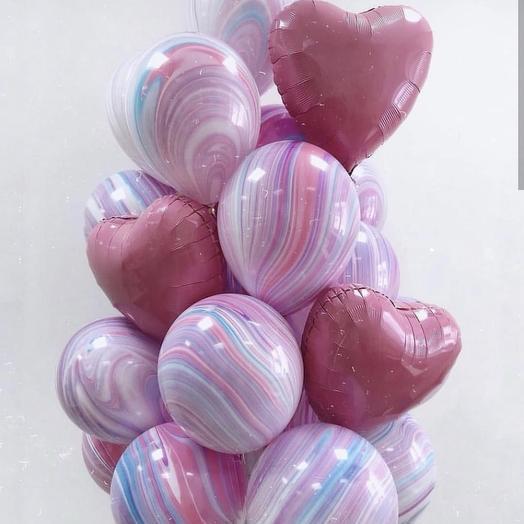 20 воздушных шариков: букеты цветов на заказ Flowwow