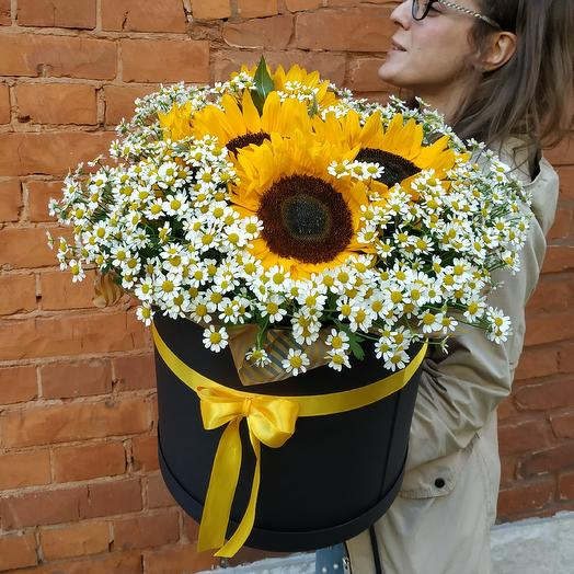 Огромное солнце: букеты цветов на заказ Flowwow